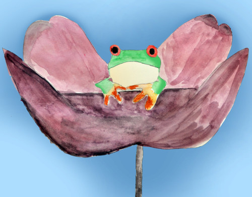 Garden Frog © Charlie Lizarraga 2014