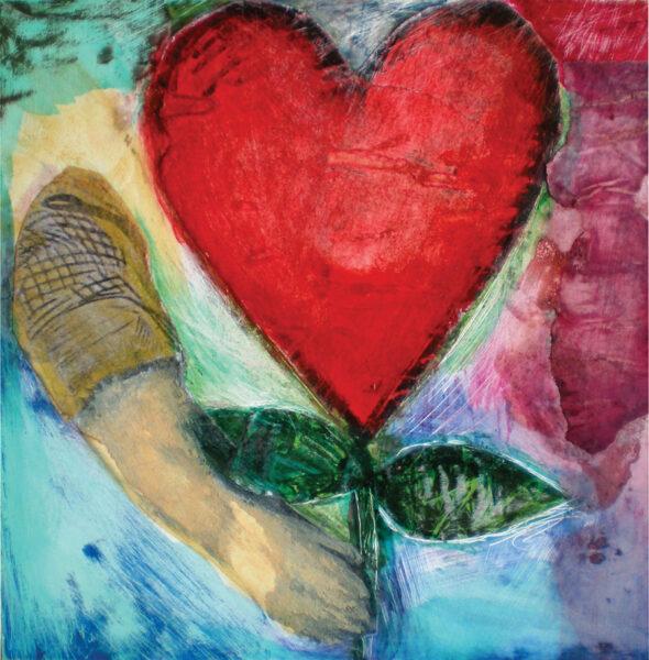Flowering Heart © Katie Ellison 2012